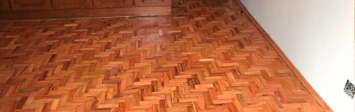 Conservação de tacos de madeira