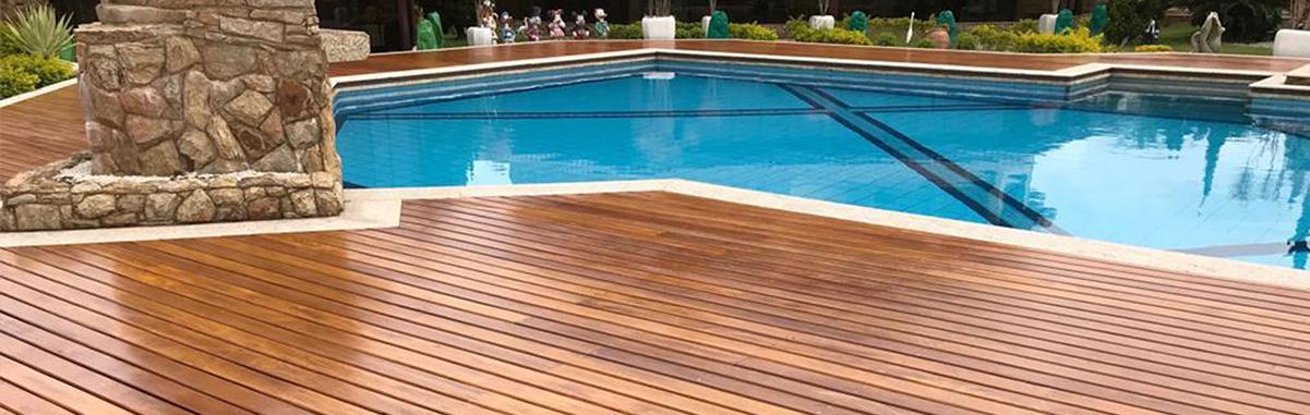 Reforma de deck de madeira