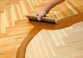 Serviço de aplicação de cascolac em pisos